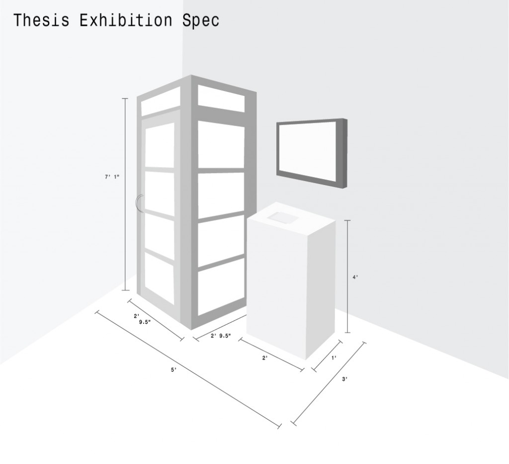 Thesis Exhibition Technical Spec